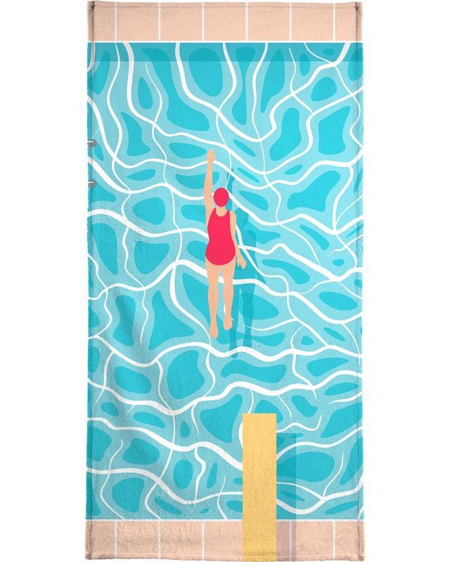 Pool -Handtuch