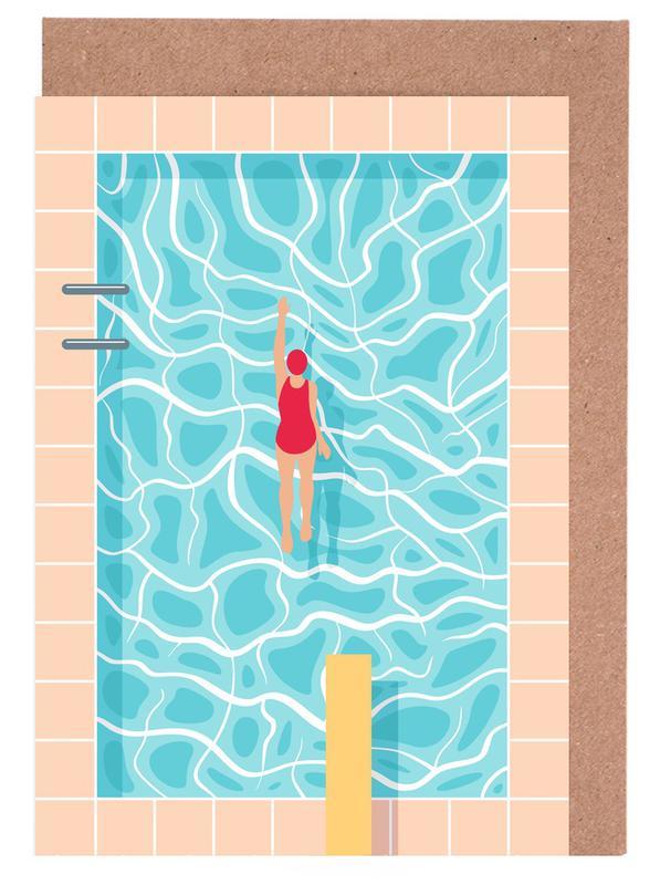 Pool Greeting Card Set