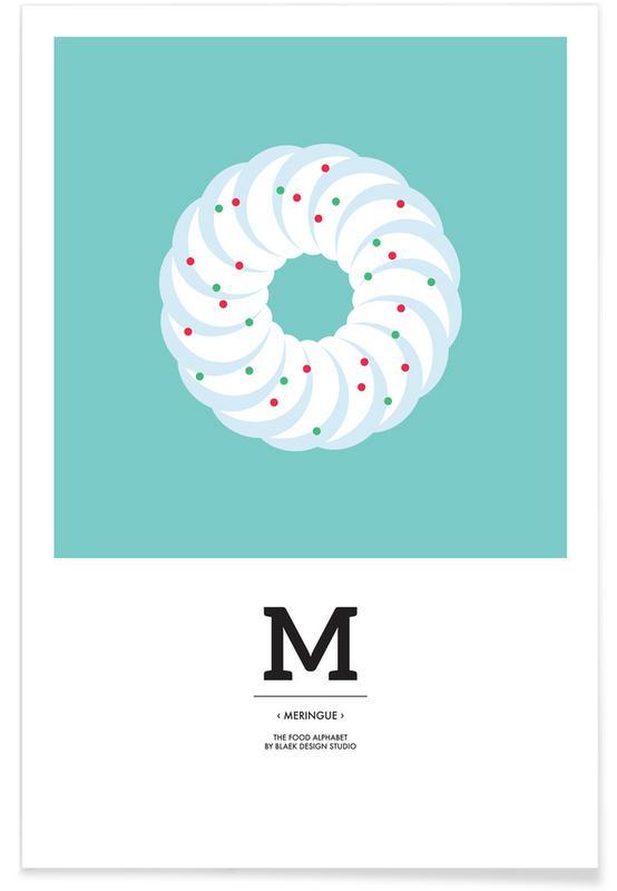 , Food Alphabet Xmas Edition M poster