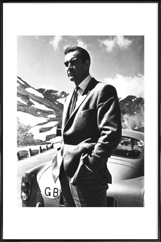 "Sean Connery ""Goldfinger"" 1964 Framed Poster"
