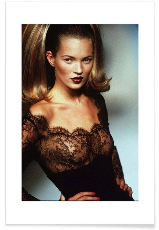 Kate Moss-Vintage-Fotografie -Poster