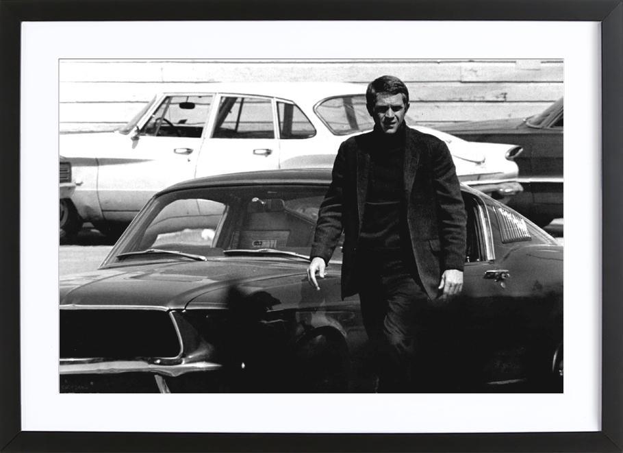 Steve McQueen in Bullitt, 1969 Framed Print