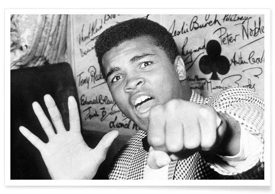 Sort & hvidt, Muhammad Ali, Vintage, Muhammad Ali - The Greatest Photograph Plakat