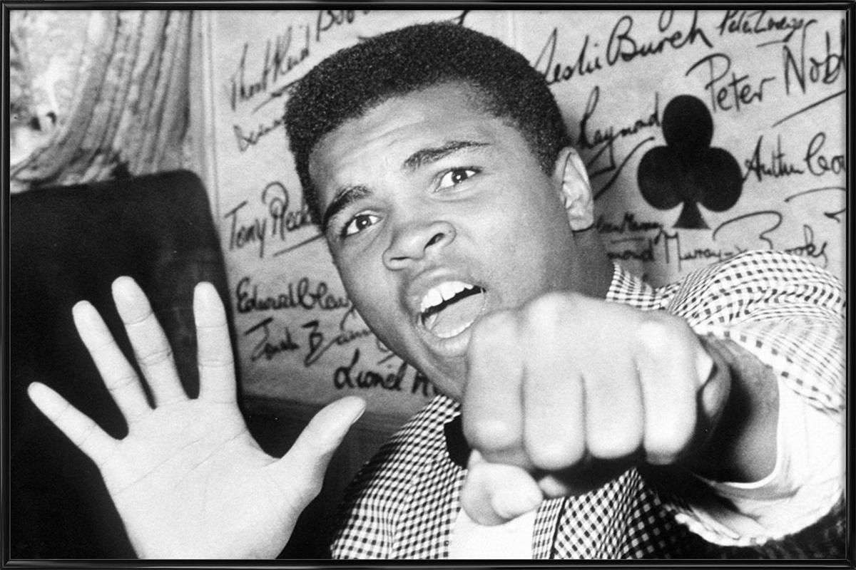Muhammad Ali - The Greatest affiche encadrée