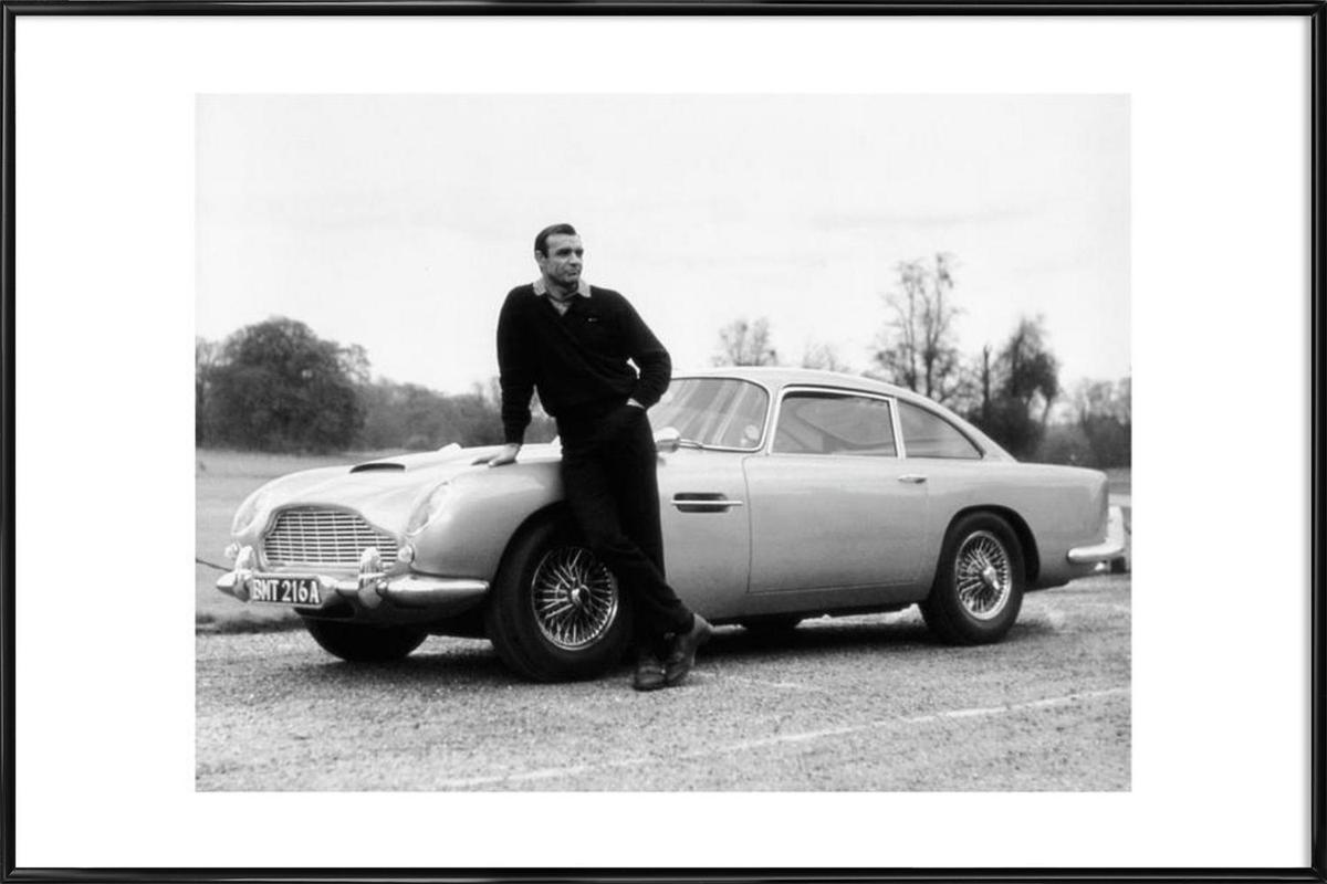 Sean Connery in Goldfinger, 1964 Framed Poster