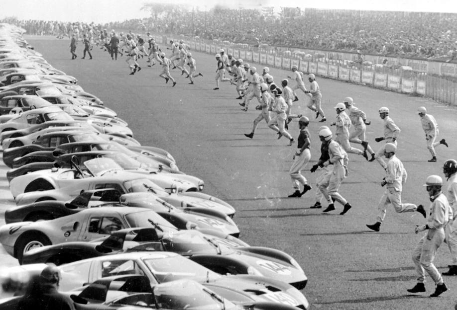 Start, Nürburgring 1964 -Alubild