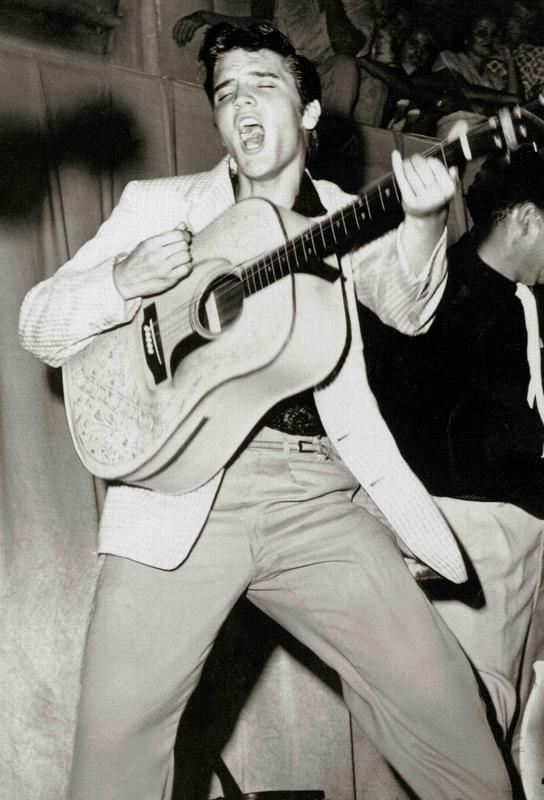 Elvis Presley Aluminium Print