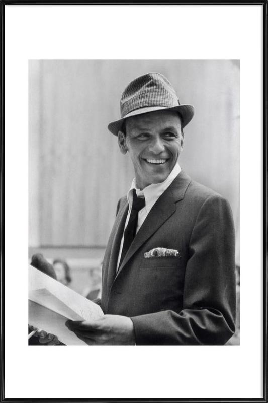 Frank Sinatra, 1957 Framed Poster