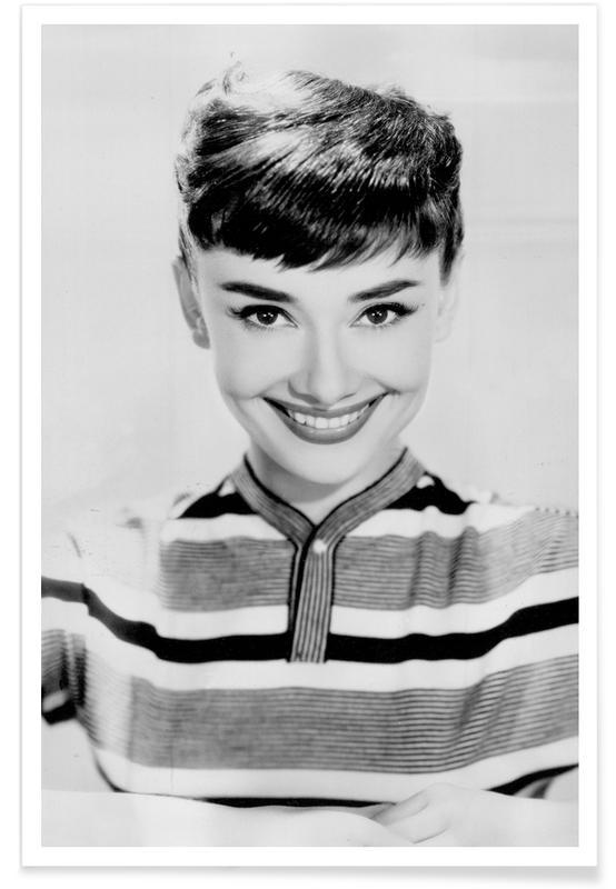 Audrey Hepburn 2 affiche