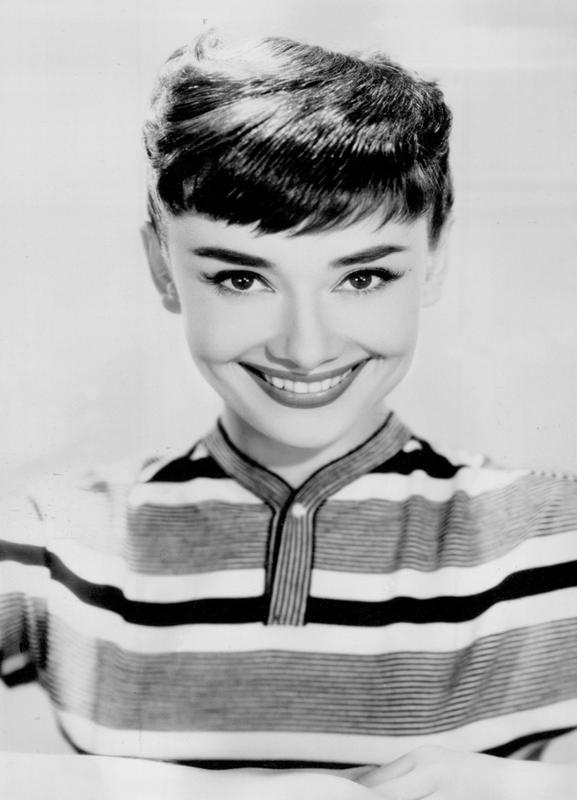 Audrey Hepburn 2 -Leinwandbild