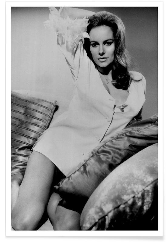 Black & White, Luciana Paluzzi Vintage Photograph Poster