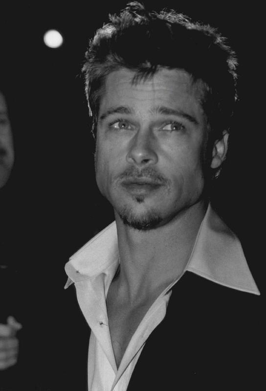Brad Pitt Acrylic Print
