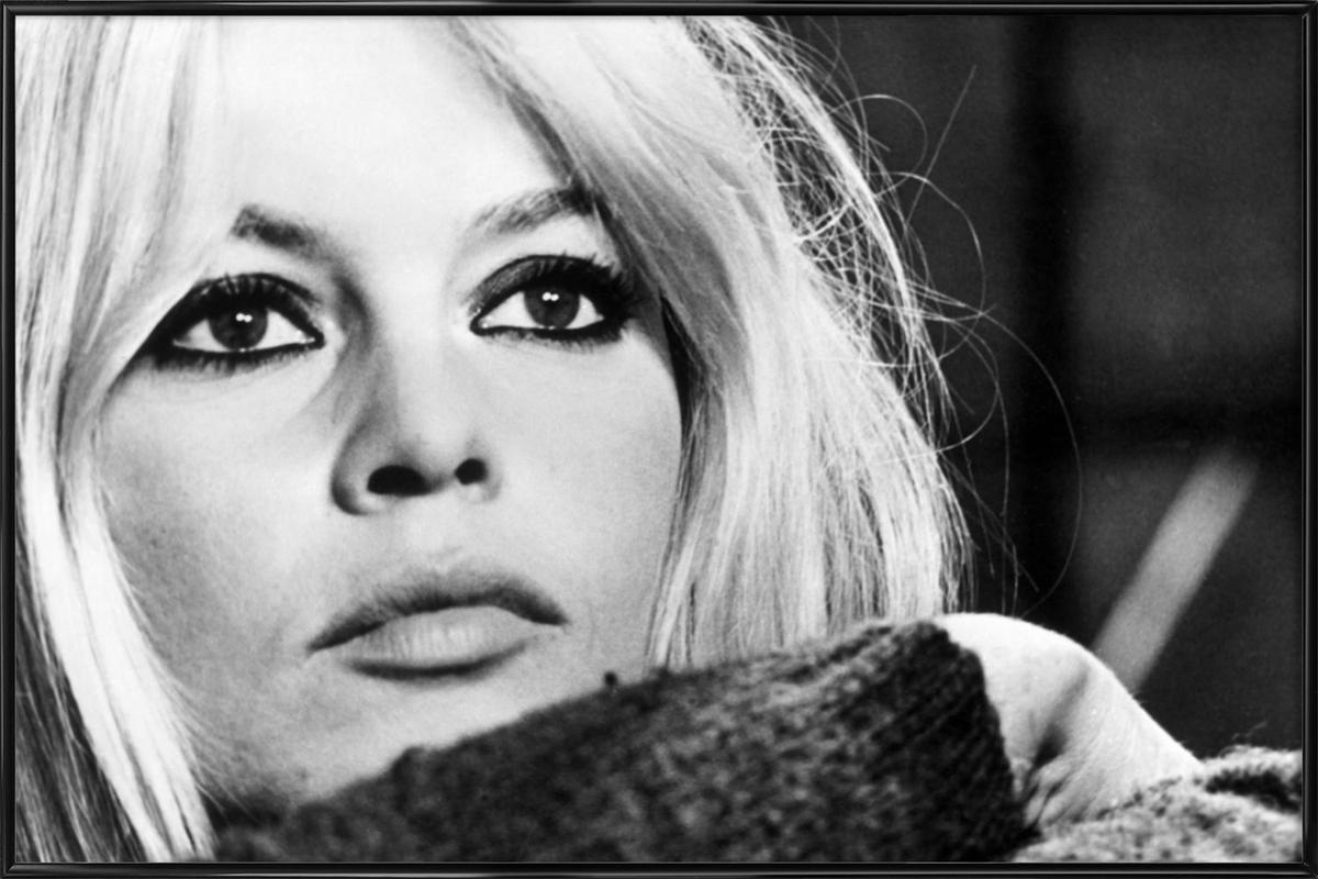 Brigitte Bardot 4 Framed Poster
