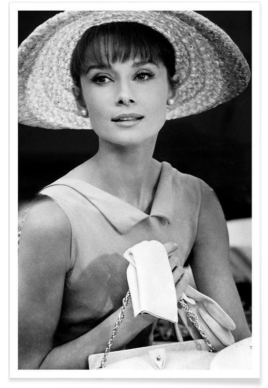 Audrey Hepburn, Noir & blanc, Audrey Hepburn 4 affiche