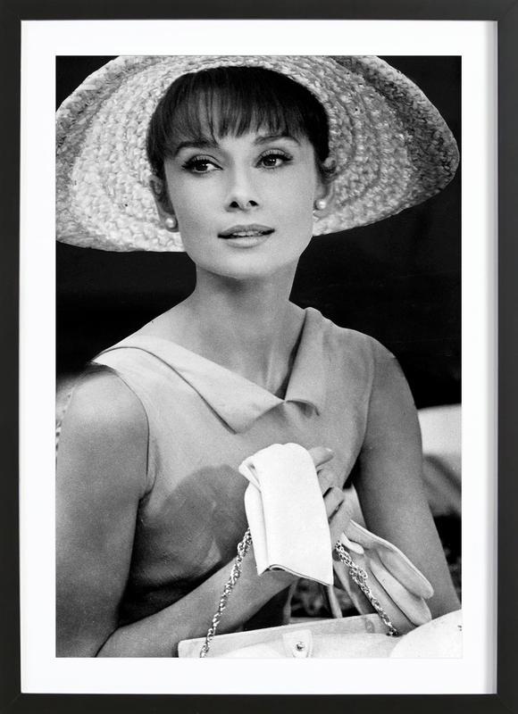 Audrey Hepburn 4 Framed Print