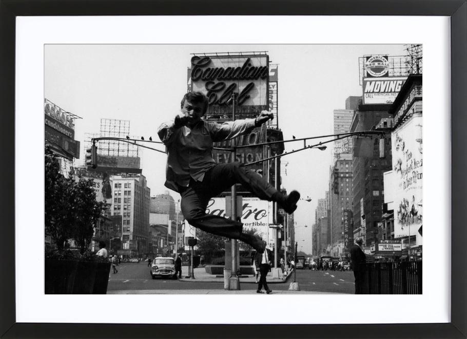Tommy Steele at Times Square Framed Print
