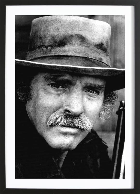 Actor Burt Lancaster, 1972 Framed Print