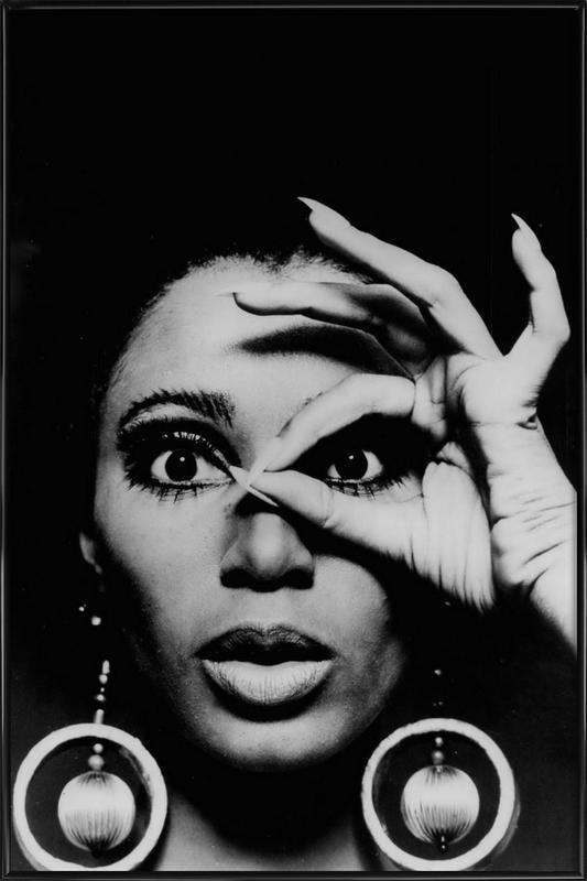 Donyale Luna, 1970 Framed Poster