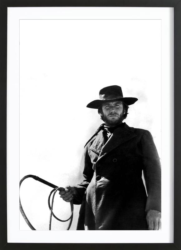 Clint Eastwood as 'The Stranger' Framed Print