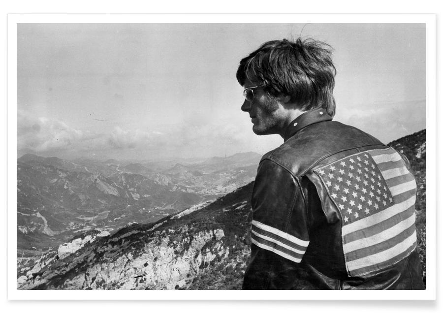 Easy Rider, Peter Fonda-Fotografie -Poster