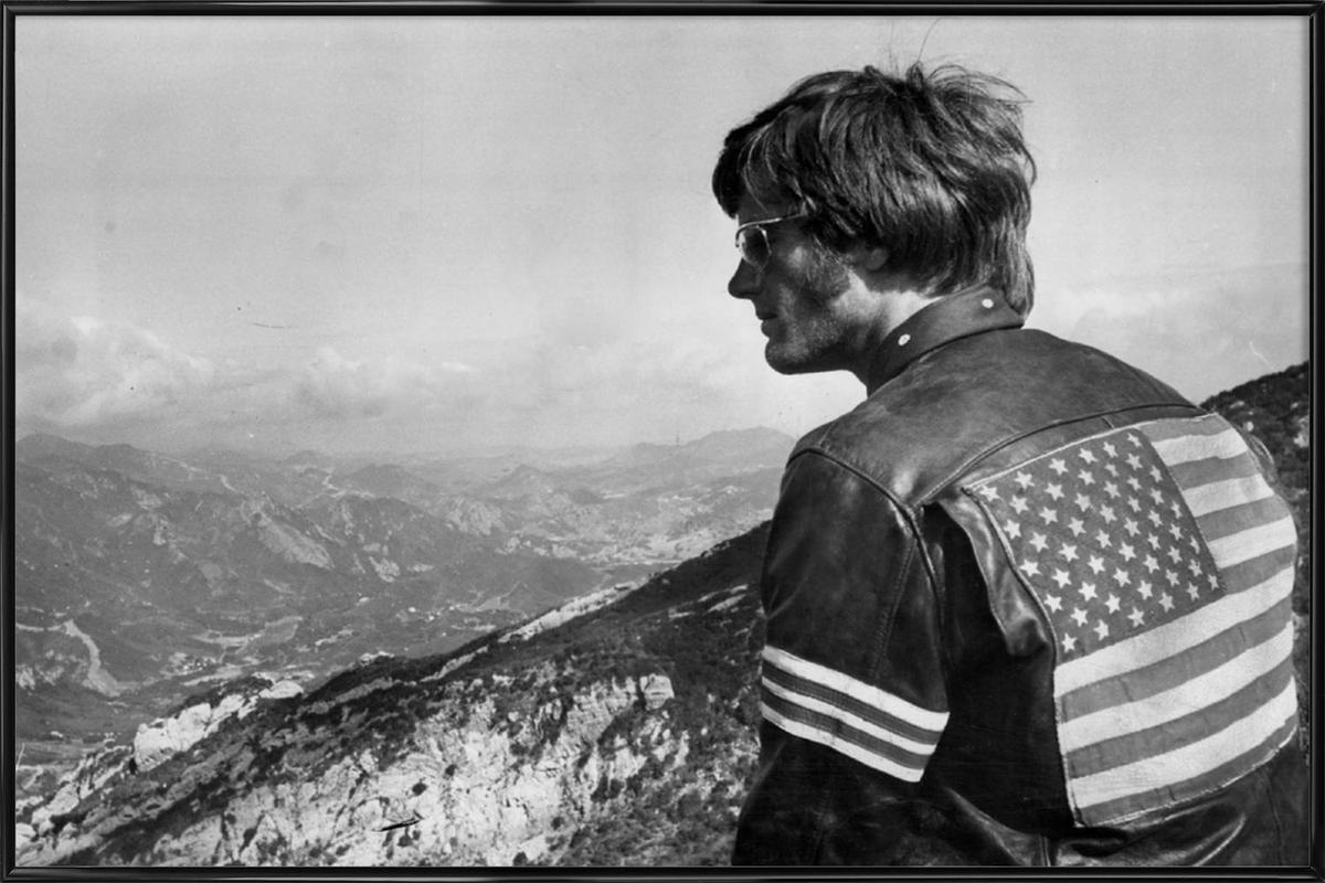 Easy Rider, Peter Fonda ingelijste poster