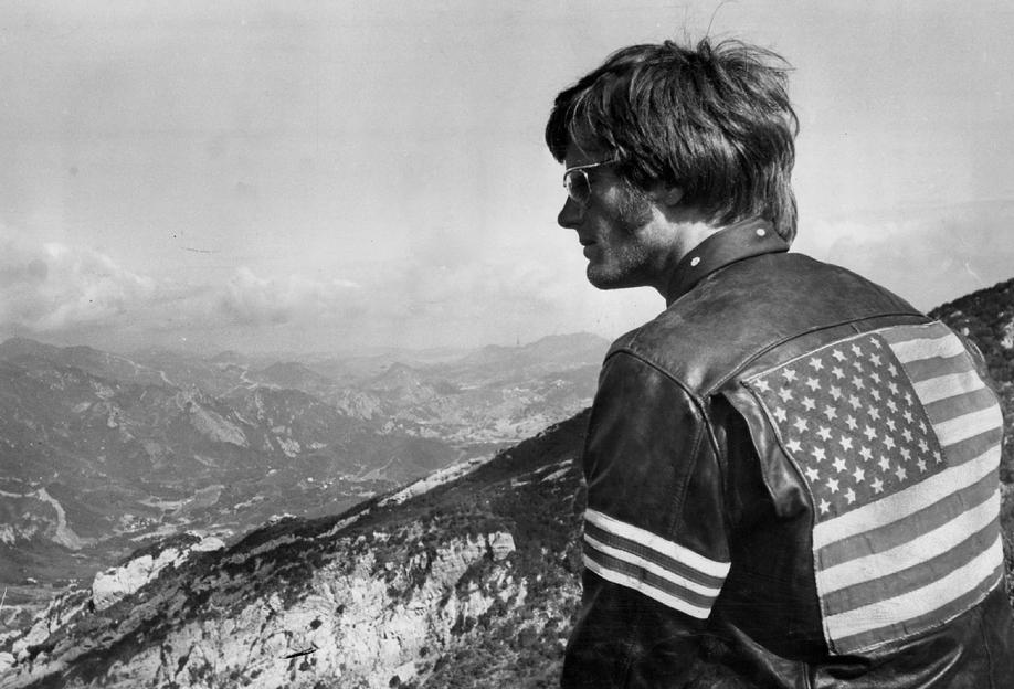 Easy Rider, Peter Fonda -Alubild
