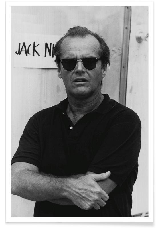 Jack Nicholson in Sunglasses - Photographie affiche
