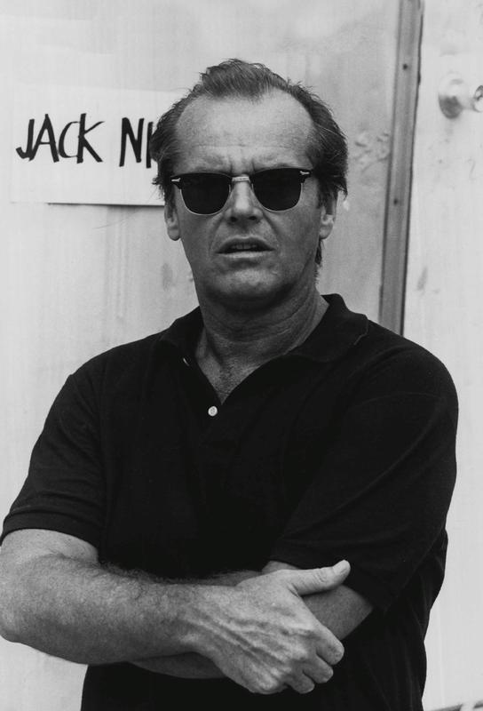 Jack Nicholson in Sunglasses Acrylic Print