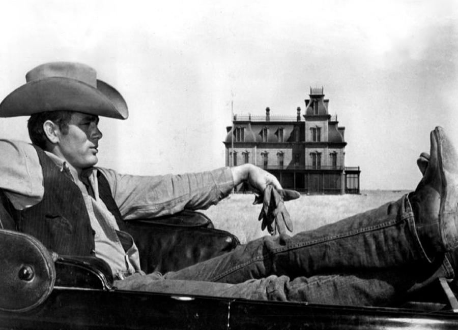 James Dean in 'Giant' Canvas Print