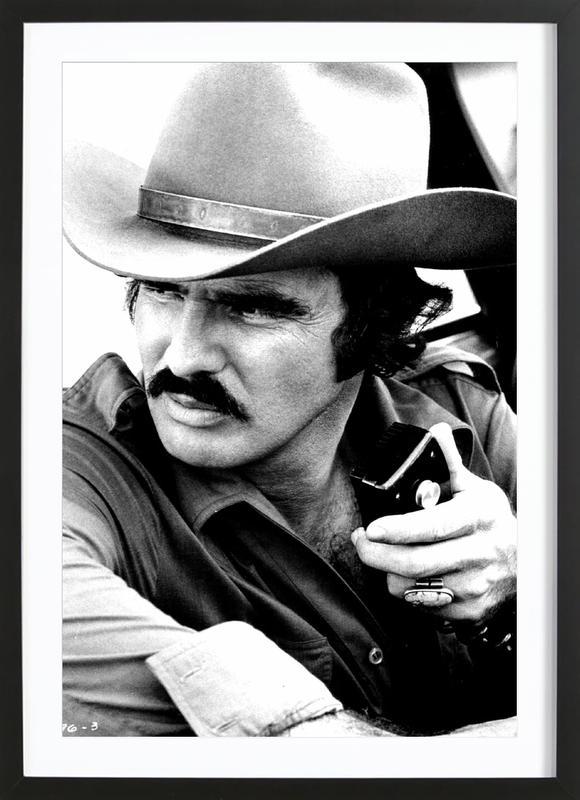 Burt Reynolds in 'Smokey and the Bandit' Framed Print