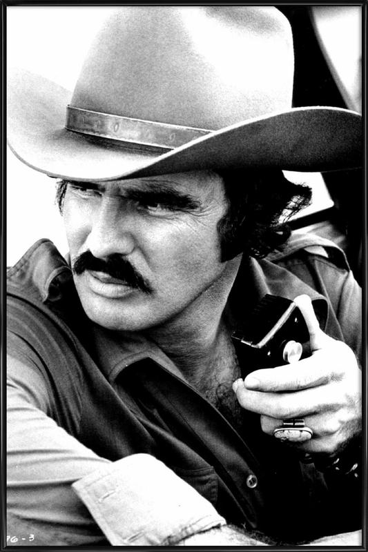 Burt Reynolds in 'Smokey and the Bandit' affiche encadrée