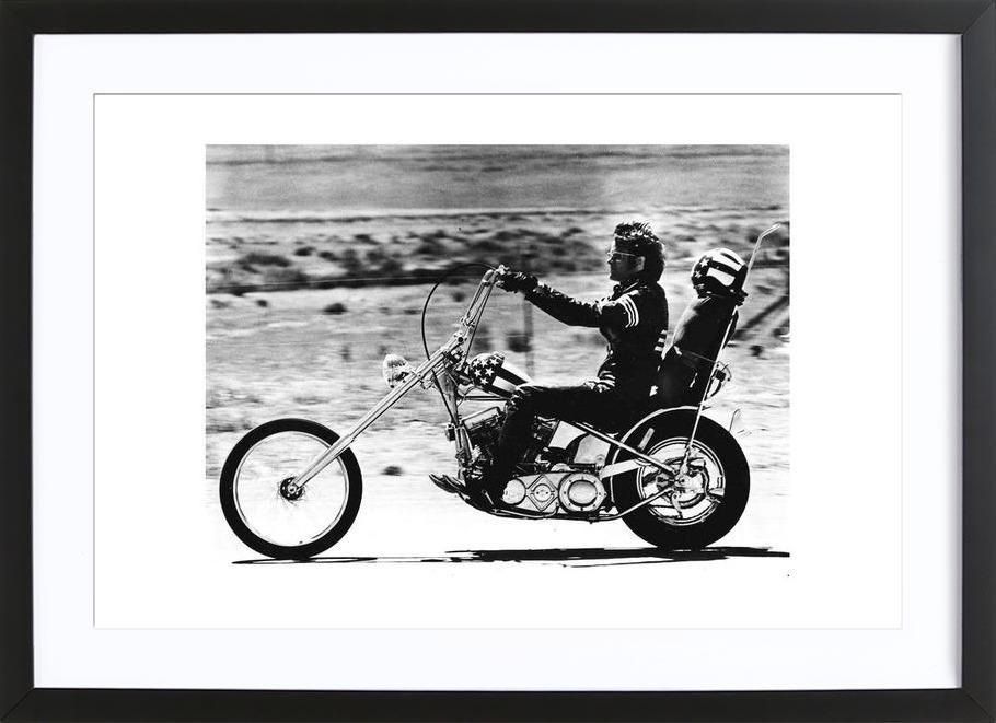 """Peter Fonda """"Easy Rider"""" 1969 Framed Print"""