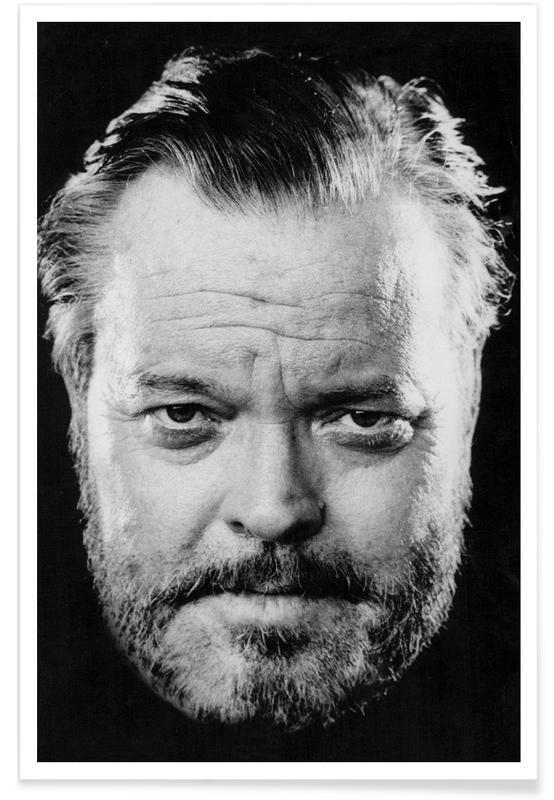 Orson Welles - Photographie vintage affiche