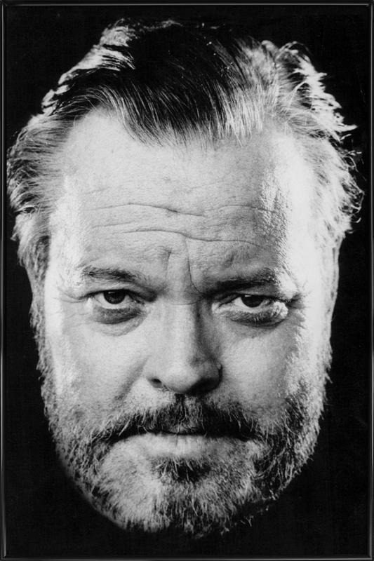 Orson Welles affiche encadrée