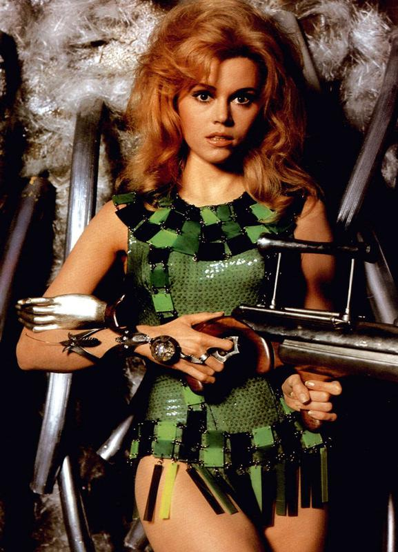 Jane Fonda as 'Barbarella' Canvas Print