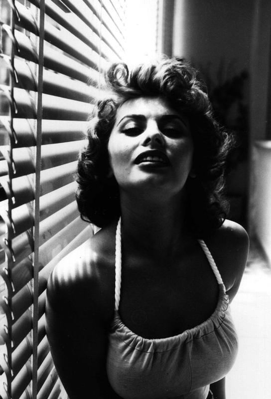 Sophia Loren Portrait acrylglas print