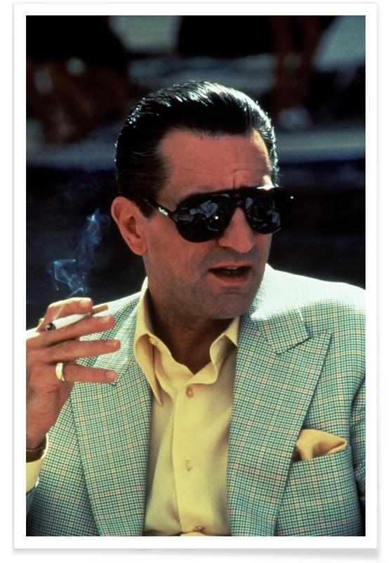 Robert De Niro dans Casino, 1995 - Photographie affiche