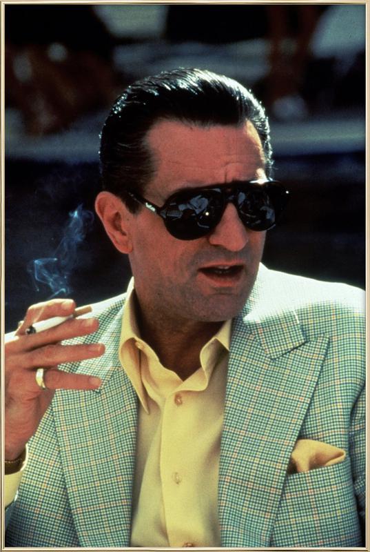 Robert De Niro in 'Casino', 1995 Poster in Aluminium Frame