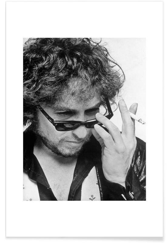 Bob Dylan - Photographie vintage affiche