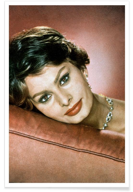 Sophia Loren in the Sixties Poster