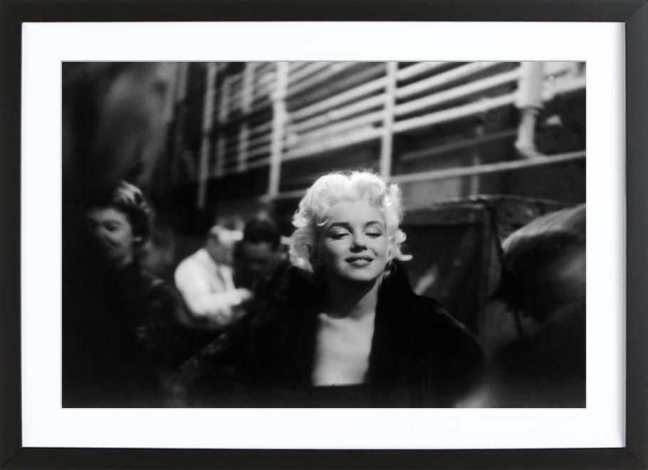 Marilyn Monroe on Subway Framed Print