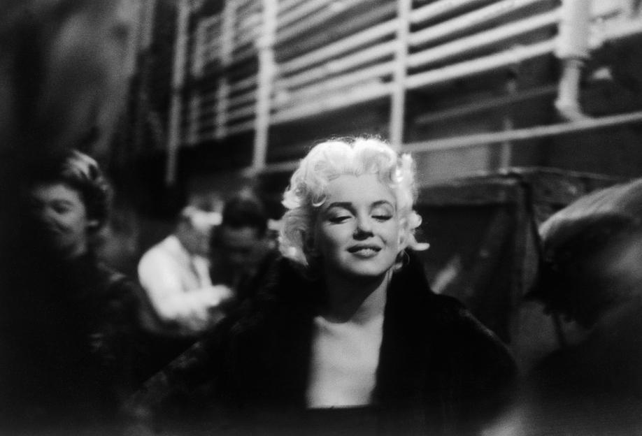 Marilyn Monroe on Subway Acrylic Print