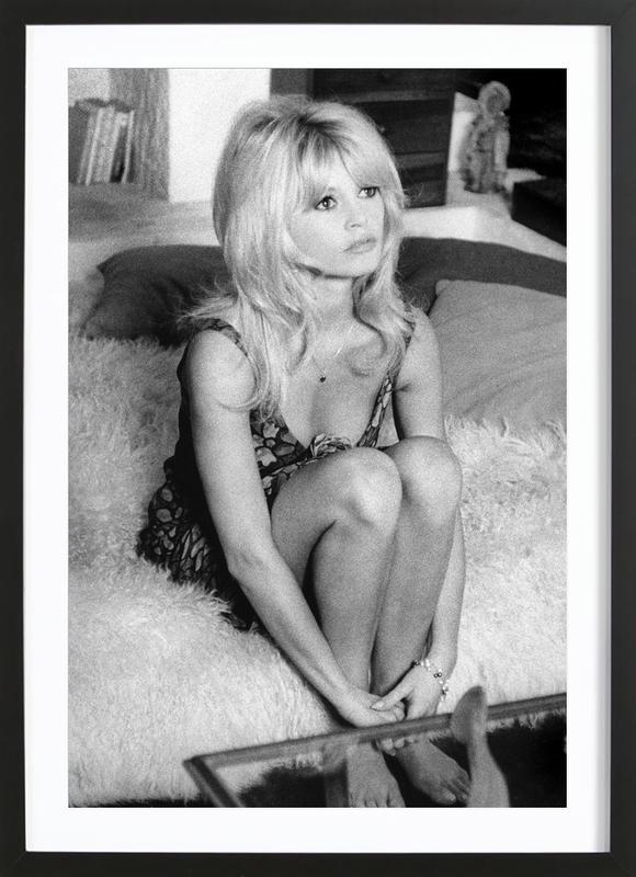 Brigitte Bardot, 'Dear Brigitte' affiche sous cadre en bois