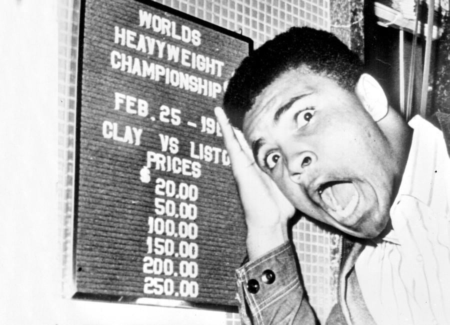 The New World Heavyweight Champion Cassius Clay, 26 February 1964 toile