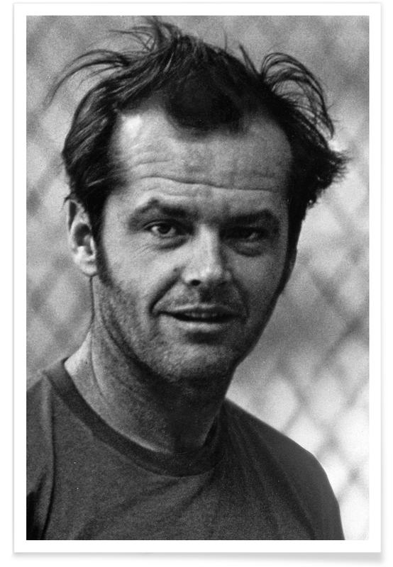 Jack Nicholson in 'One Flew Over the Cuckoo's Nest' affiche