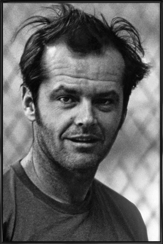 Jack Nicholson in 'One Flew Over the Cuckoo's Nest' ingelijste poster