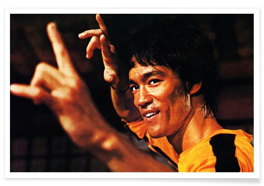 Films, Bruce Lee, Foto van Bruce Lee in Game of Death poster