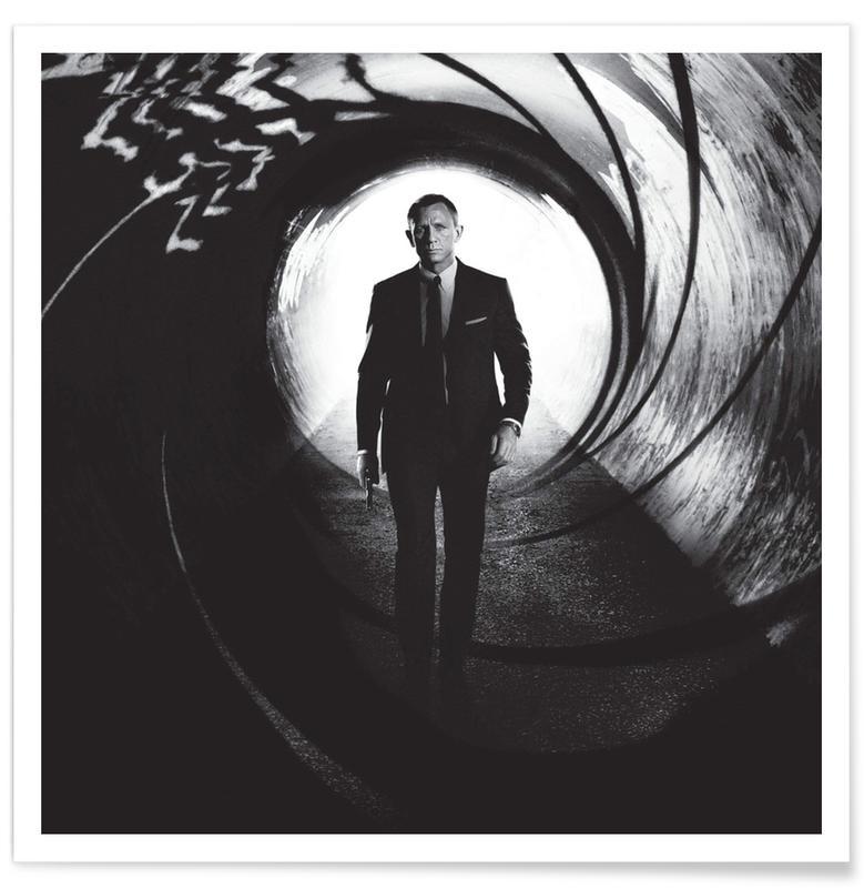 Daniel Craig dans Skyfall - Photographie affiche
