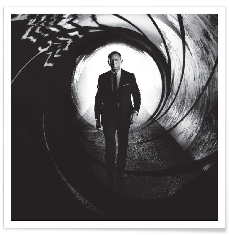 Daniel Craig in Skyfall Photograph Poster