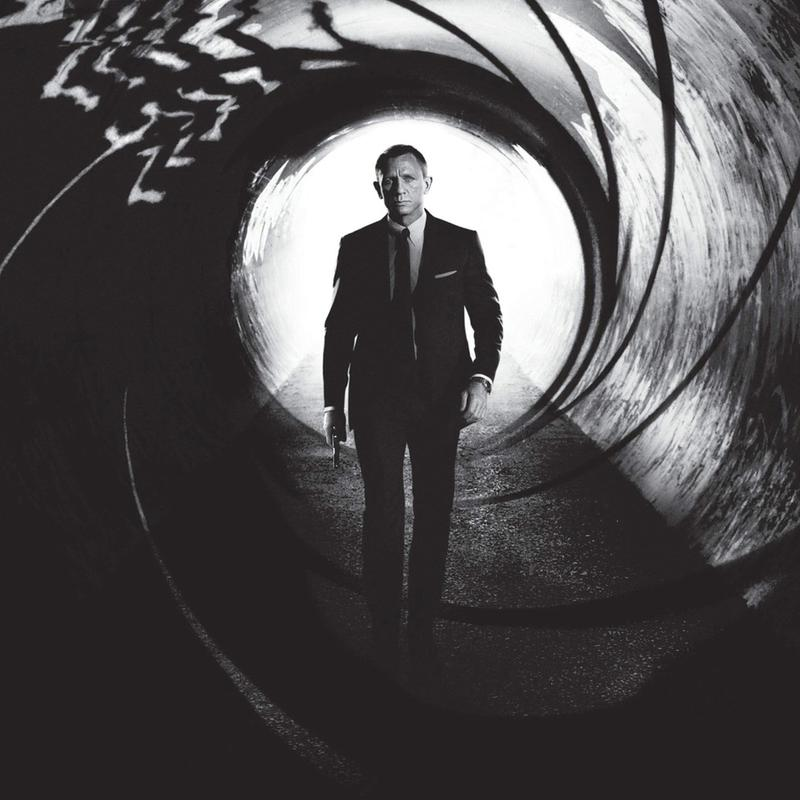 Daniel Craig in 'Skyfall' toile